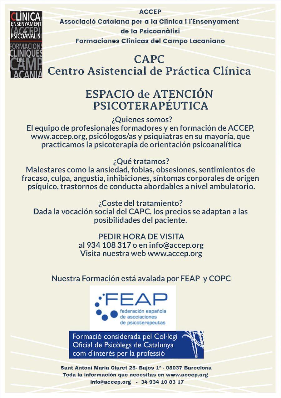 Atencion terapeutica y prácticas ACCEP